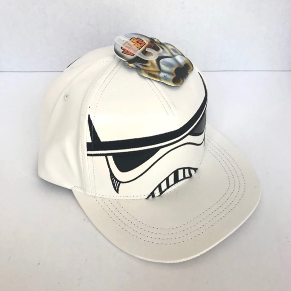 fa48f4ba008f3 NEW Star Wars Stormtrooper Snapback Hat Adjustable